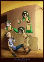 Toph    -It's not Unusual- by DonPapi