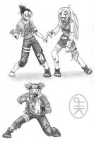 Naruto Zombies 2 by hirokiro