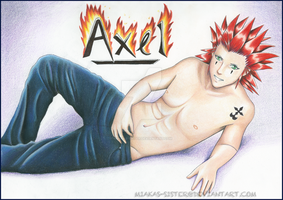 Assemble, all Axel Fangirls by Miakas-sister