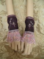 Steampunk-Victorian cuffs PCCC13 by JanuaryGuest