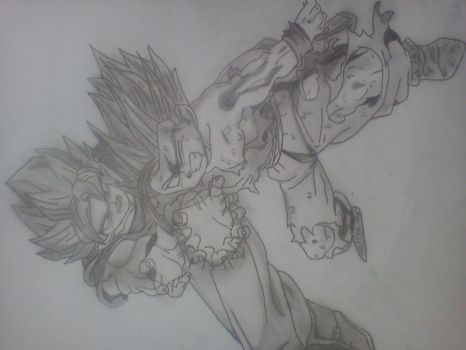 Father Son Kamehameha by Jeerryy