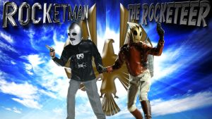 The Rocketeer and Rocketman wp by SWFan1977