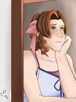 Aerith by luddles