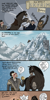 Skyrim: My Buddy the Horse by sparkyHERO