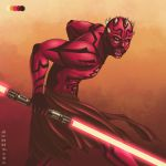 SW - Darth Maul (Palette Challenge) by Rory221B