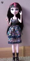 floral dress by Mirania666