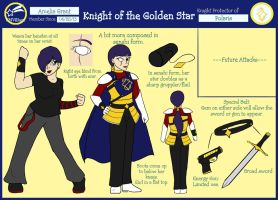 SM Village- Knight of the Golden Star by BishiLover16