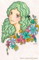 Flower Girl Spring by yuzukko