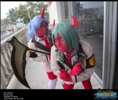 Scanty and Kneesocks I by Zatsuky