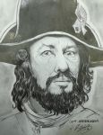 captain barbossa by deniz-ince