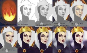 Evil Queen Process by Down-The-Stairs