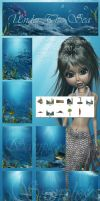 Under the Sea backgrounds by moonchild-ljilja