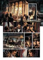Van Helsing Vs. Jack the Ripper p.12clr by BillReinhold
