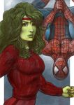 SheHulk and the Spiderman by fedde