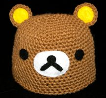 Rilakkuma Beanie by rainbowdreamfactory