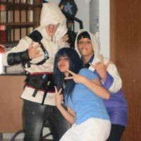 Random Cosplay with Bro and Sis by xenya-cullen