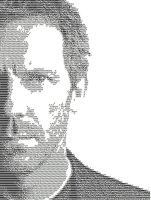 Dr. House ascii by ibx93