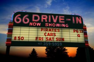 Route 66 Drive-in Theater by Giangreco