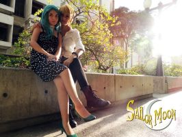 Haruka x Michiru - Cosplay Session 19 by Bahamut-Eternal