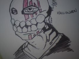 Halloween sketch - shinagami by Neolithic-angel