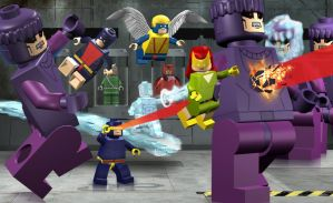 Lego X-Men vs the Sentinels by mikenap22