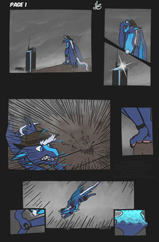 The Shot: page 1 by Bluehasia