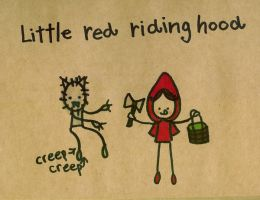 Little red riding hood by Pinkie-Perfect