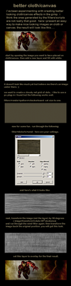 better cloth or canvas in gimp by istarlome