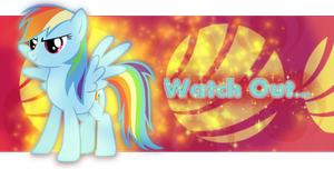Rainbow Dash Signature :3 by Lunell