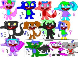 :OPEN: HTF POINT ADOPTABLES 1 by HTF-LvR