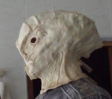 Javik's head  - WIP Mass Effect 3 first cast by Giedriusonline