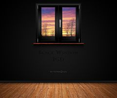 Black Window PSD by Agamemmnon