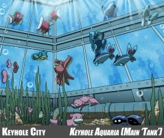Keyhole City - Aquaria Tank by tazsaints