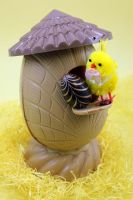 Chocolate Birdhouse Egg-1 by Rea-the-squirrel