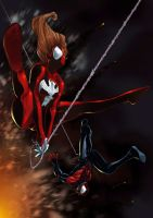 Ultimate Spiderman by DnaTemjin