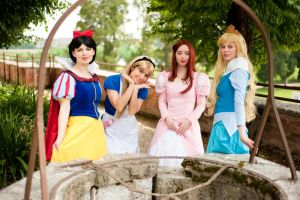 Disney's Princesess by falketta