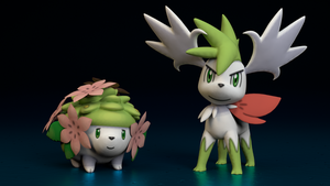 #492. Shaymin by TheAdorableOshawott