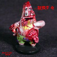 Undead Patrick Star  zombie by Undead-Art