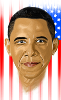 President Obama by EdwouldZilla