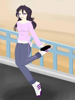 Jogging by zabuzahs