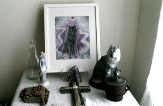 My Altar by Bad-Luck-Wolf