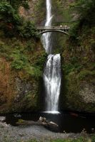 Multnomah Falls by 1001G