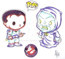FUNKO POP REAL GHOSTBUSTERS #3 by Optic-AL