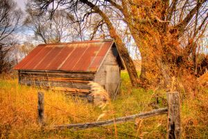 HDR Old Barn by Nebey