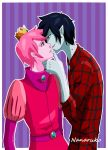 Prince Gumball and Marshall Lee - Adventure Time by Nanaruko