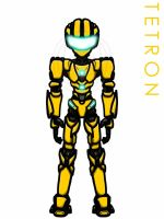 Real Steel OC: Tetron(Redesigned w/ New bio) by Mystic2760