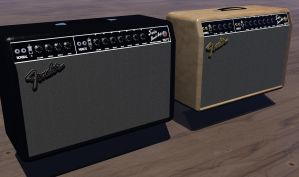 Twin  Reverb Twins by Cunning69Linguist