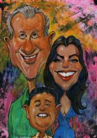 The Pritchet's from Modern Family by Lobo36
