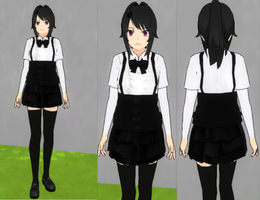 Yandere simulator Outfit by FloorcakeLOL