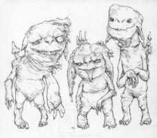 Rot Goblins by yvash